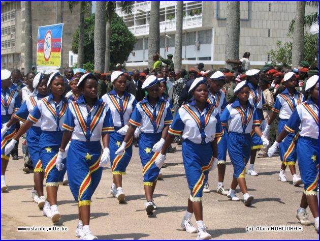 Défilé du Cinquantenaire à Kisangani